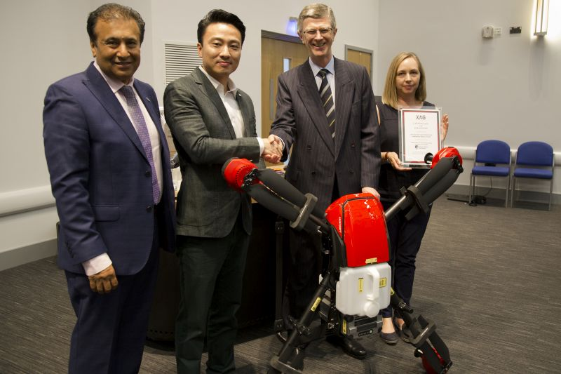 Harper Adams partners with one of world's largest drone companies