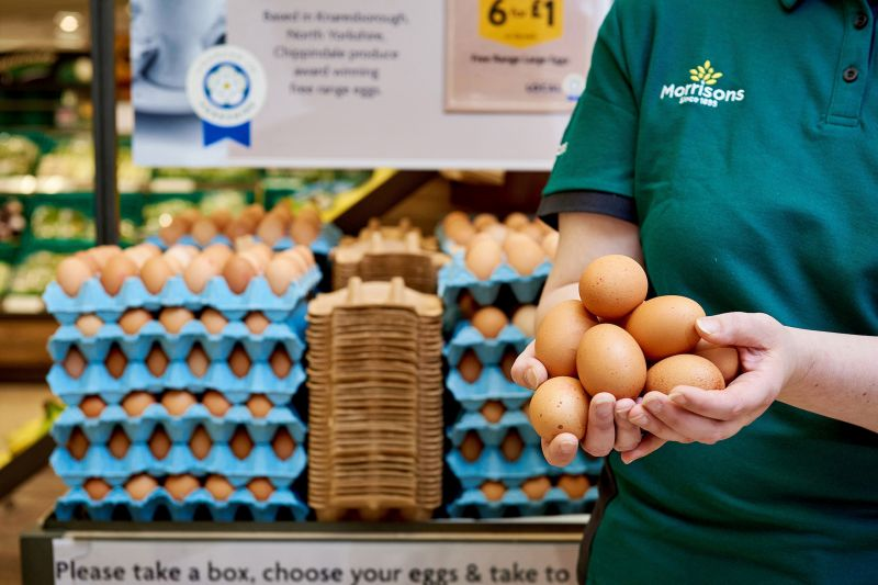 Morrisons launches trial that could revolutionise the way eggs are sold