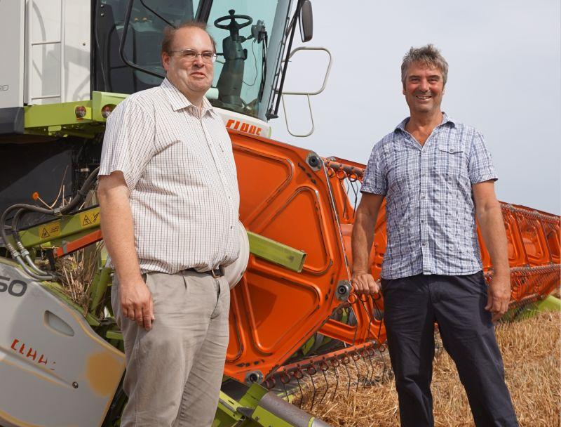 Despite a tough season, Lincs farmer Tim Lamyman has managed to harvest 15.38t/ha