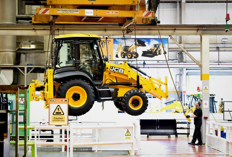 JCB announces record turnover and machinery sales