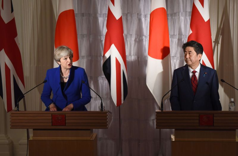 UK could retain 'global strength' after Brexit by joining TPP, Japan says