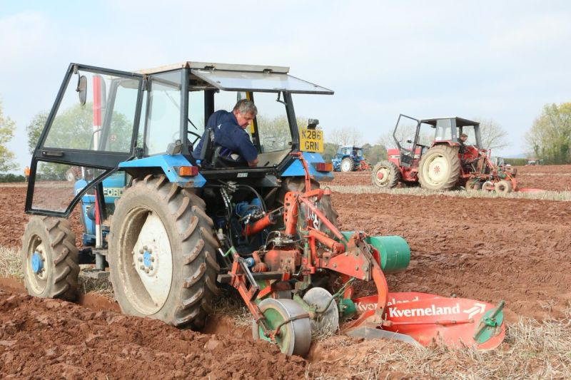 Challenging weather tests Britain's ploughmen during national championships
