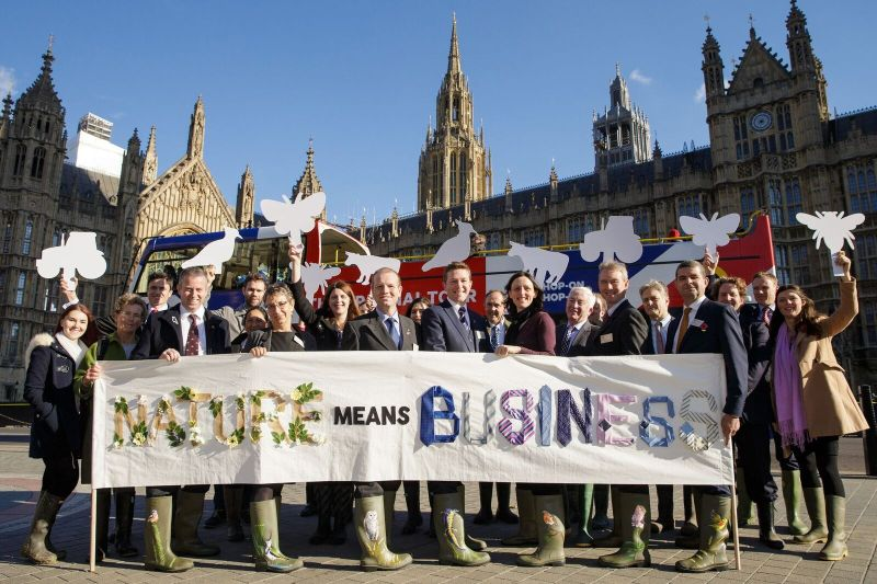Farmers descend on Westminster to advocate green farming