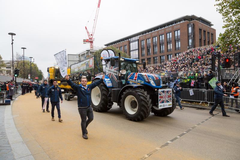'Proud to produce': Showcasing best of British farming at Lord Mayor's Show