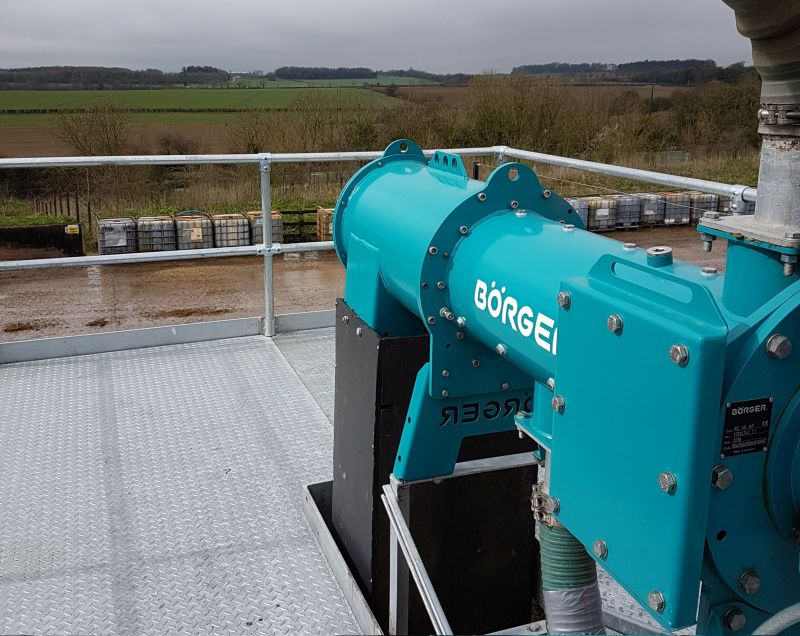 Börger's BioSelect, which successfully separates fibre solids from the digester liquid at Kemble Farms