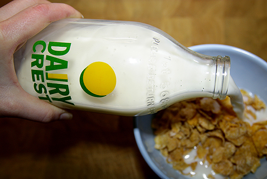 330 farmers supply milk to Dairy Crest exclusively