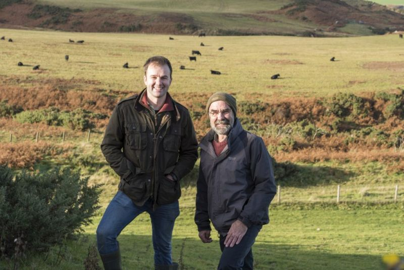 Father and son partnership wins 'Scotch Beef Farm of the Year'