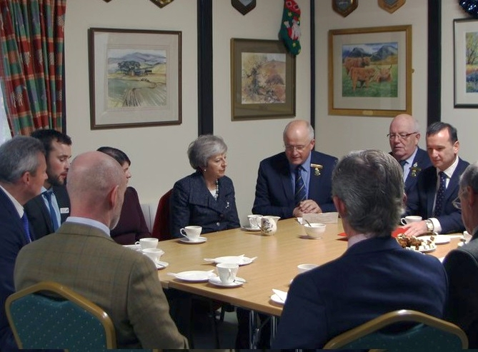 Welsh farming unions seek assurances from May on Brexit deal