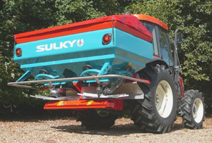 New high-precision Sulky Spreaders at LAMMA 2008