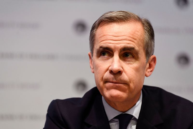 Food prices could rise by 10% due to Brexit, Mark Carney warns