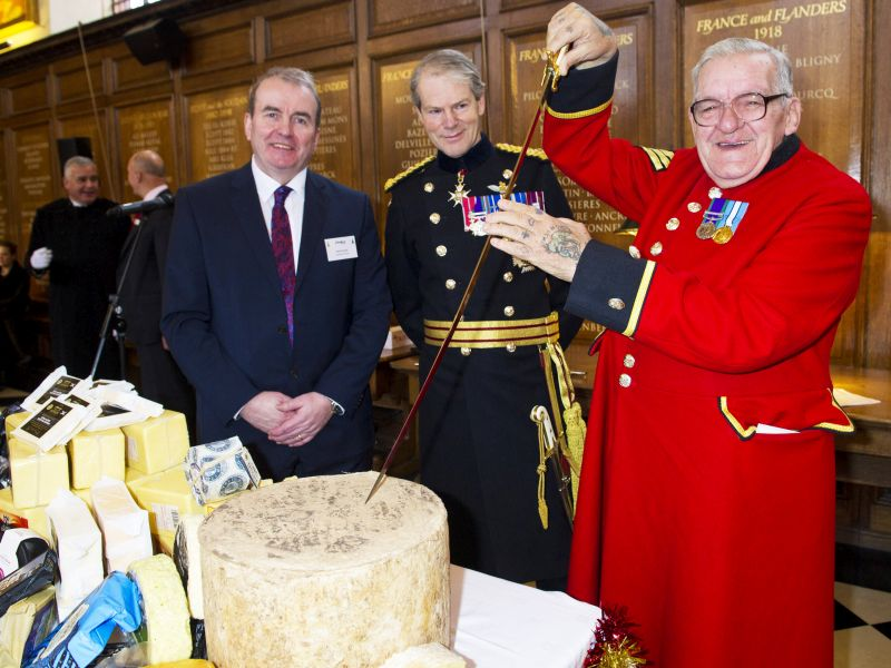 The historic role cheddar rations played in providing important nutrients to soldiers was highlighted