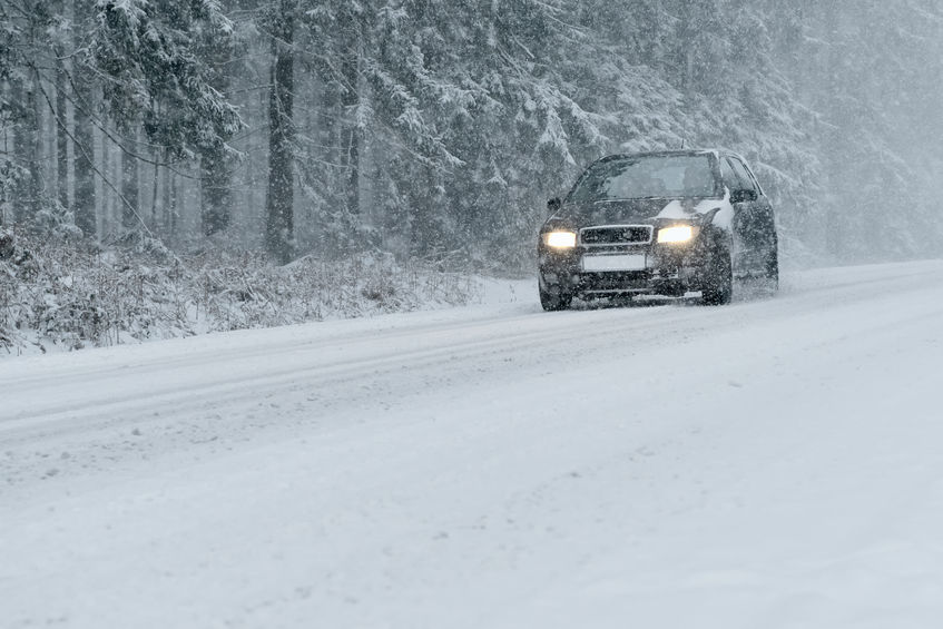 Drivers on rural roads told to take care as temperatures plummet