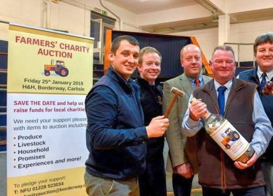 Farmers' Charity Auction raises over £55,000
