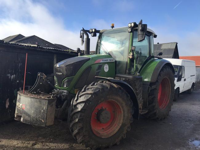 Hampshire police recover stolen tractor worth £150,000