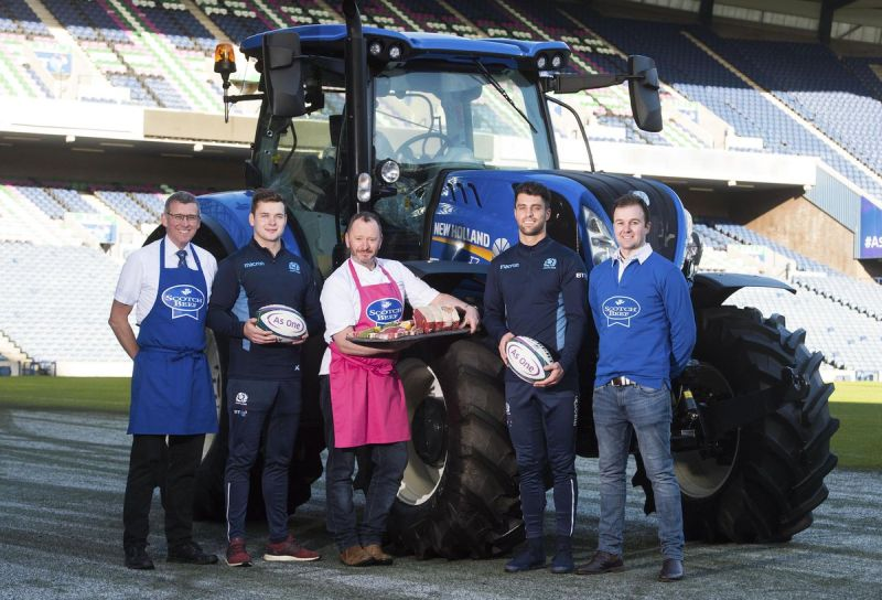 Scotch Beef announced 'Official Healthy Eating Partner' of Scottish Rugby