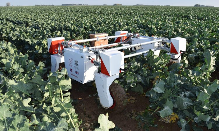 UK to launch world's first doctoral agri-robotics training centre