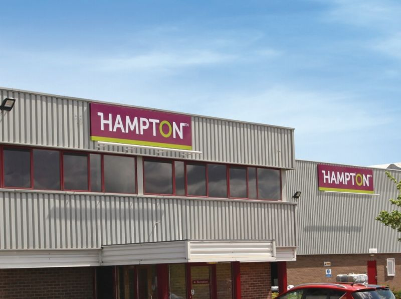 The acquisition of this facility by Hampton will enable the continuing production of premium green painted products in hinge-joint and fixed knot fencing