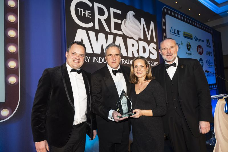 The Cream Awards recognise some of the brightest and best businesses and people across the dairy industry