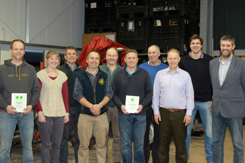 Members of the Scottish YEN growers group are advocating for a new spring barley category