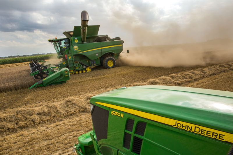 John Deere tractors to go under hammer following group's administration