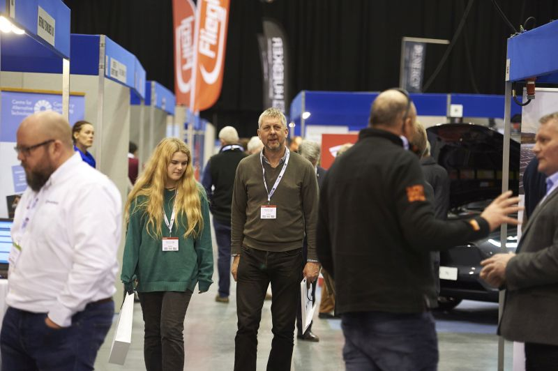 Testament to the success of the event and taking centre stage at the show were the new BBC Top Gear team