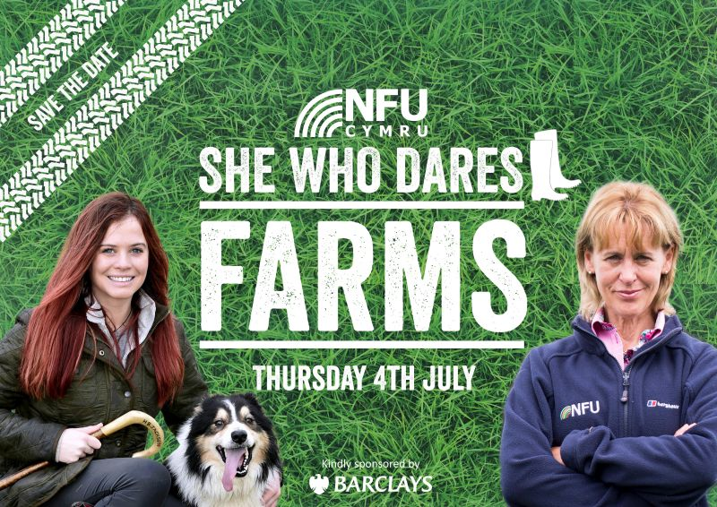 Two female farming icons to speak at 'She Who Dares...Farms'