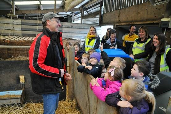 Schoolchildren experience farming first-hand thanks to competition