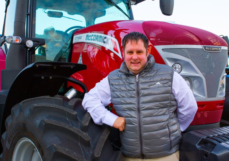 New Area Sales Manager for leading tractor maker