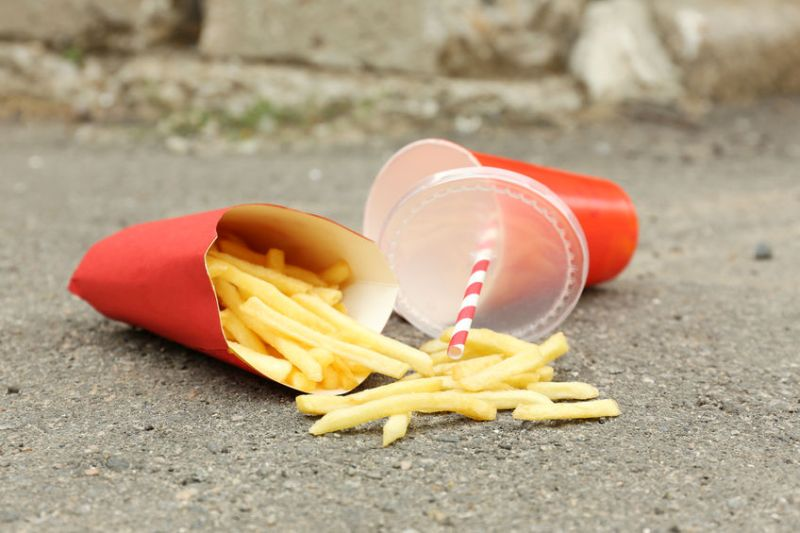 Print car number plates on fast food bags to stop litter, farmer says