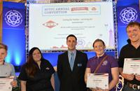 'Dream Machine' winners win trip to Kuhn headquarters in France