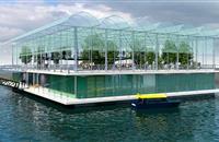 Futuristic Dutch plan to create a floating dairy farm to ship milk to Rotterdam