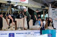 It's not all about Rio: GB's sheep shearers win medals and set world records