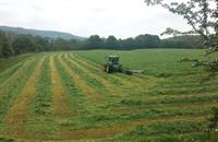 Derbyshire farm achieves record results after reseed