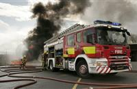 Firefighters across Somerset tend to large farm fire