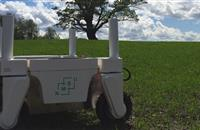 Advanced agricultural mobile robot to help perform experiments at university