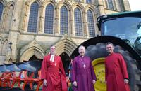 'People have lost connection with food': Ripon Cathedral celebrates start of farming year with 'Plough Sunday'