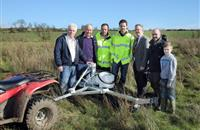 Innovative weed wiping scheme to provide alternative way of tackling weeds