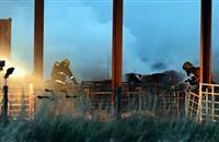 40 firefighters tackle farm blaze in Aberdeenshire