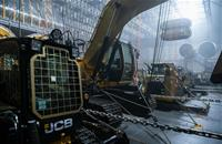 Twenty JCB machines feature in cult film Alien Covenant