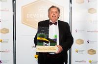 Farmer who built thriving dairy farm from nothing named Devon's Farmer of the Year