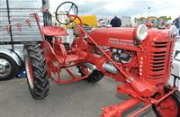 West Sussex: 'Unique' historic red tractor stolen