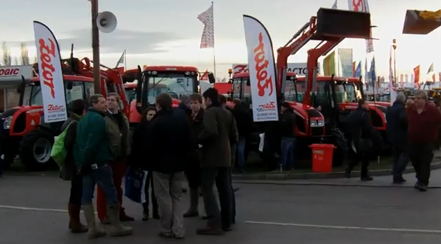 Zetor UK, Lamma Show 2012, Day 1