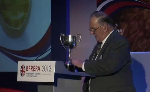 BFREPA Best Trade Exhibitor 2013