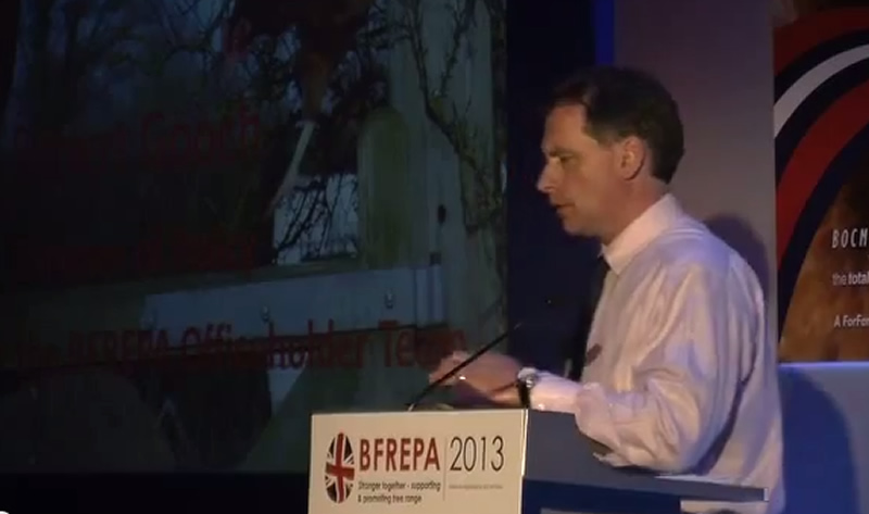 Robert Gooch Presentation to BFREPA Conference 2013