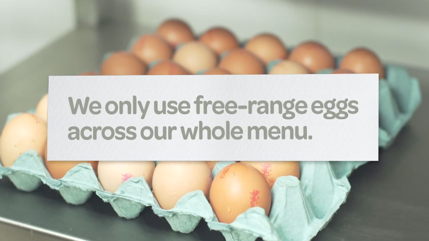 The story of McDonald's free-range eggs
