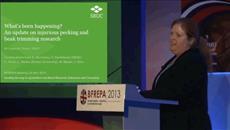 Dr Laura Dixon: Beak Trimming Update at BFREPA Conference 2013