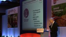 BEIC Chairman Andrew Joret speaks at the 2013 BFREPA Conference