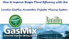 How the Landia GasMix Mixer Improves Biogas Plant Efficency