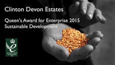 Clinton Devon Estates Queen's Award for Enterprise 2015
