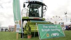 Dairy produce at Nottinghamshire County Show
